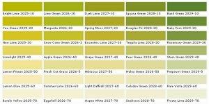 24 Verschiedene Gruntone Wandfarbe